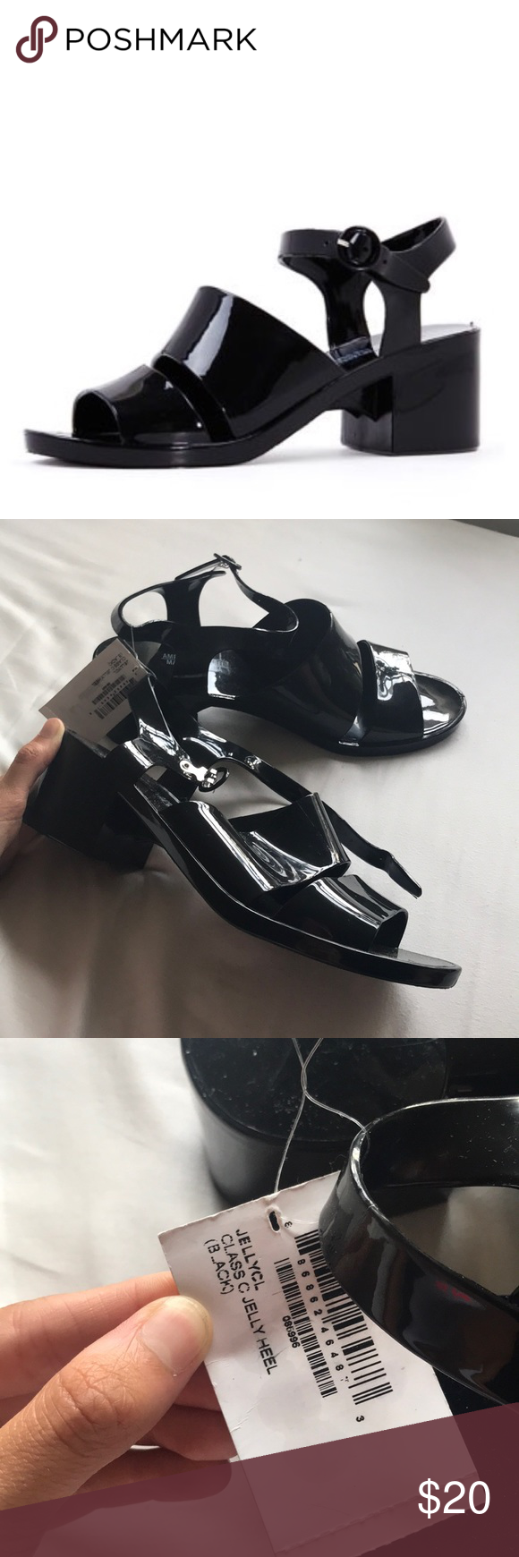 6b60b93d4139 American Apparel Black Classic Jelly Heel These awesome jelly heels are a  classic addition for any closet. Size 11. Tags still on.