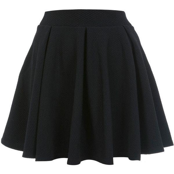 Miss Selfridge Petites Full Skater Skirt (175 DKK) ❤ liked on Polyvore featuring skirts, bottoms, saias, jupes, black, petite, skater skirts, flared skirt, circle skirt and miss selfridge