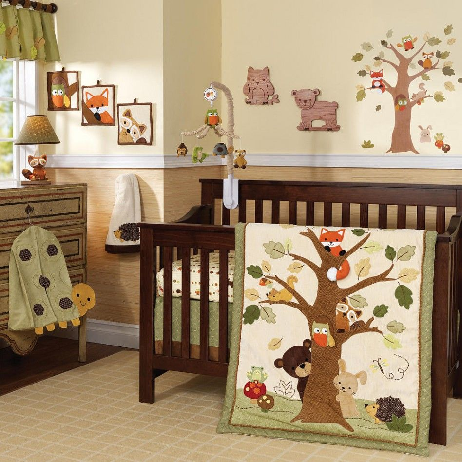 Baby Nursery Top Notch Unisex Room Decoration Using Brown Owl Neutral