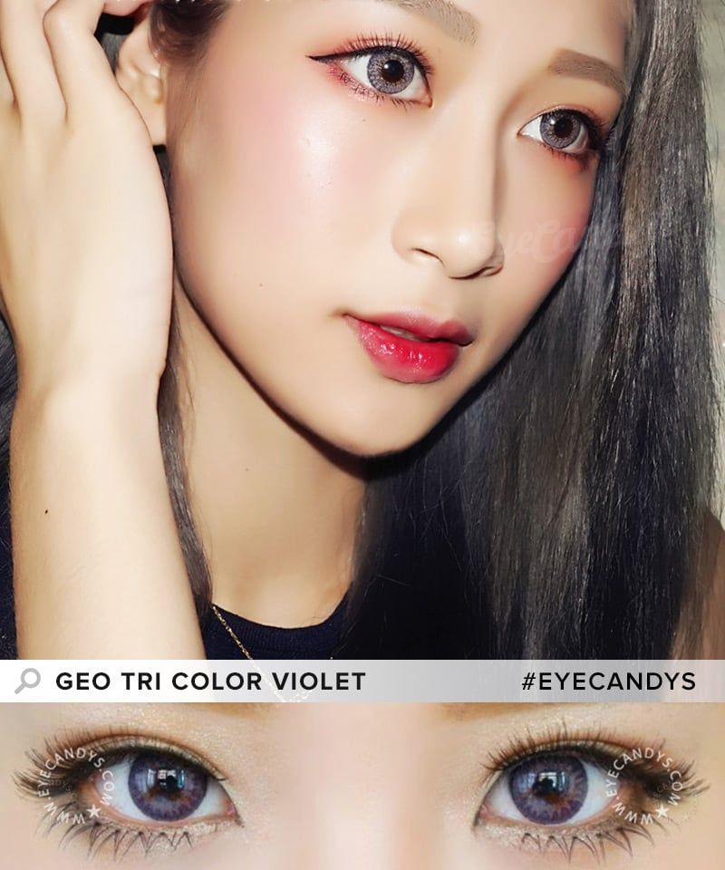 07379c654e5 GEO Tri Color colored contact lenses - these work beautifully on dark or  black eye colors!