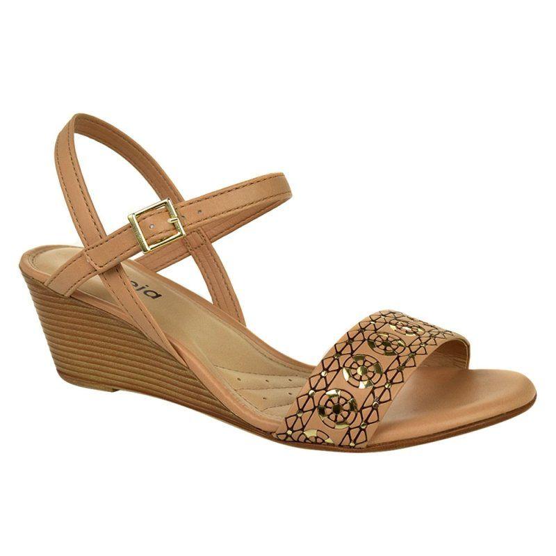 b2b65500e Sandália Feminina Anabela Azaleia | mis zapatos favoritos | Anabela ...