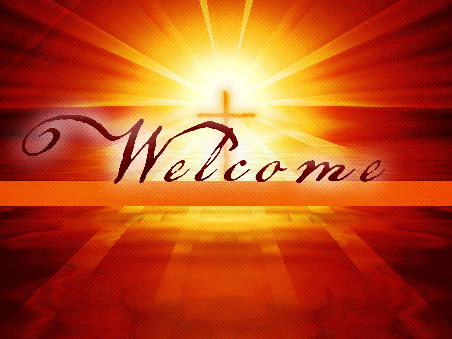 Image result for welcome in the name of Christ
