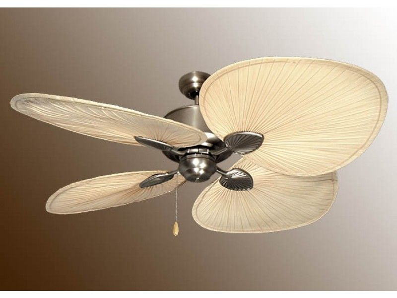 tropical fan honeywell five ceiling bowl sunset with sabal inch pin palm light fans hand