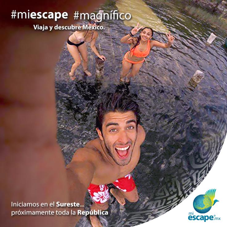 ¡Vive nuevas aventuras con tus amigos! #MiEscape #México