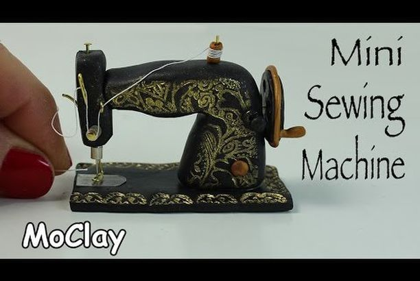 Miniature Vintage Sewing Machine Tutorial