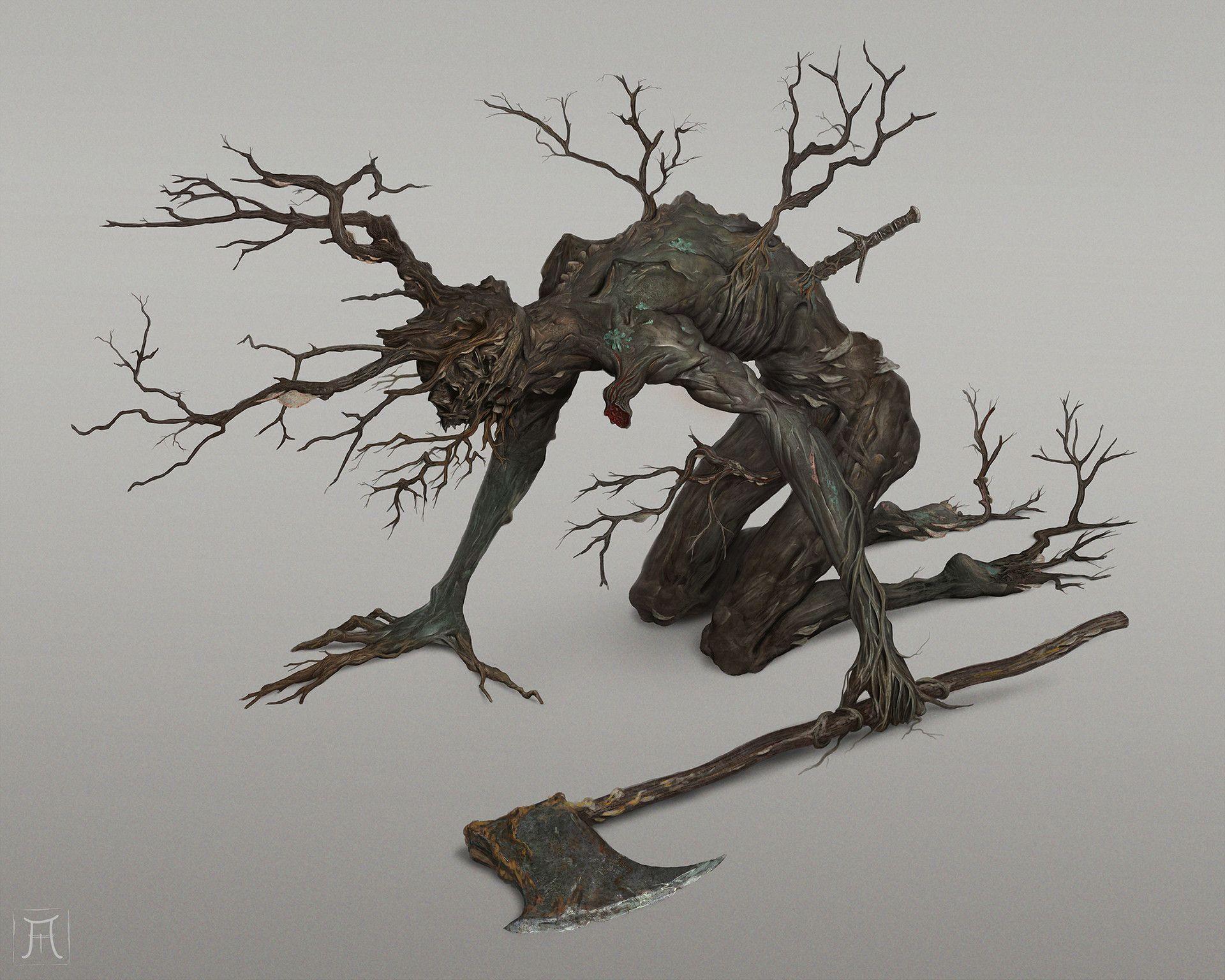 ArtStation - Curse Rotted Man, Igor Krstic