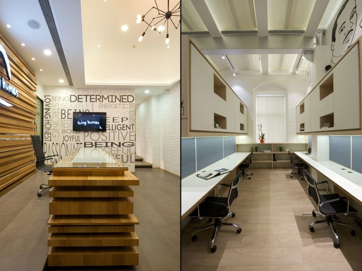 Being Human Office By The Ashleys Mumbai India Retail Design Blog