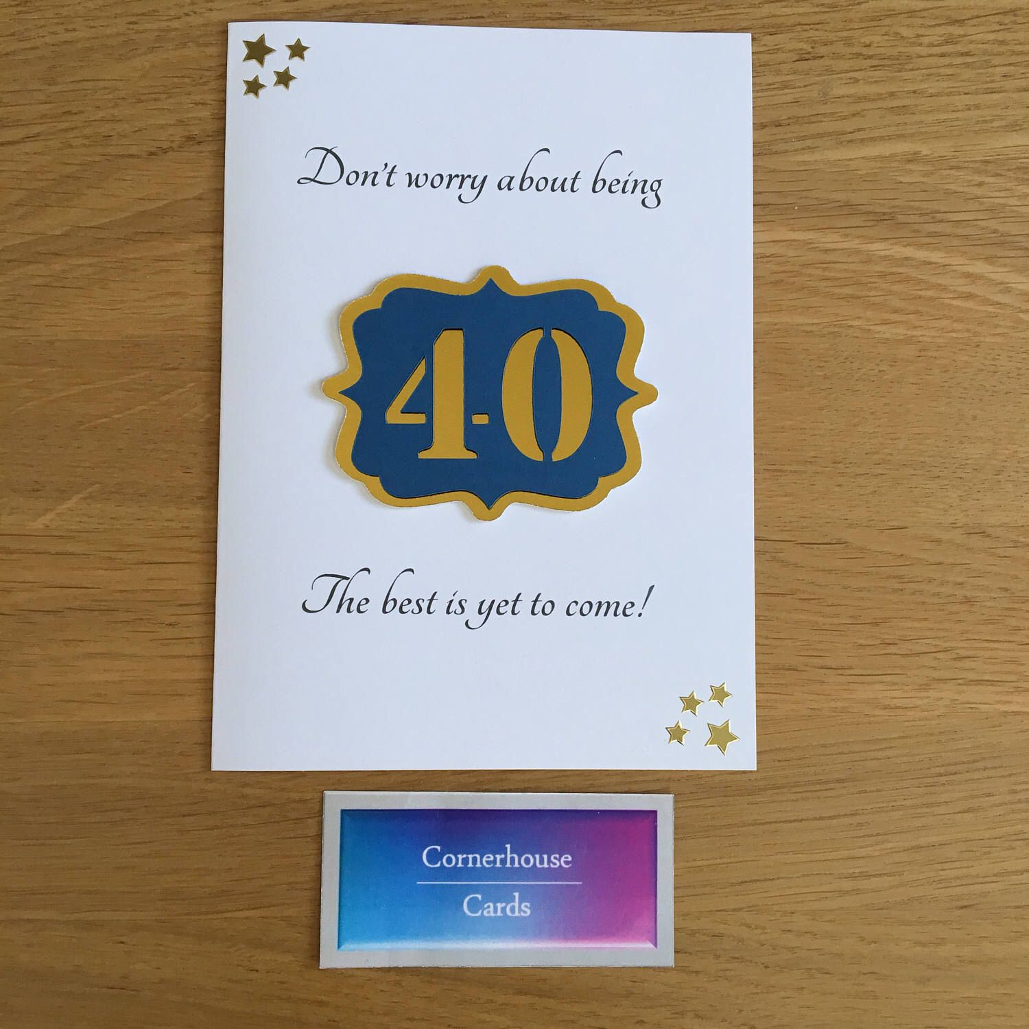 40th Birthday Card Card For 40 Year Old 40th Milestone Etsy Birthday Cards For Men 40th Birthday Cards 30th Birthday Cards