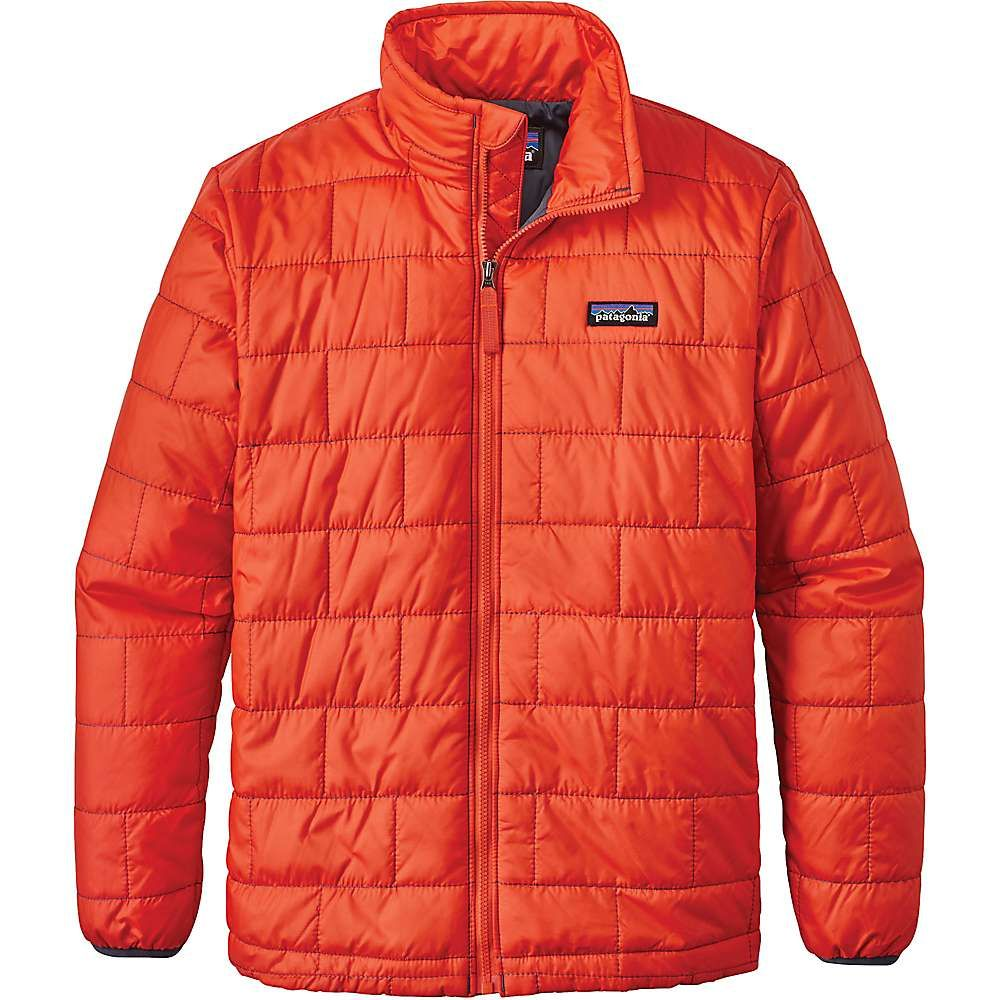 f0ef8f04a Patagonia Boys' Nano Puff Jacket - XS - Paintbrush Red | Products ...