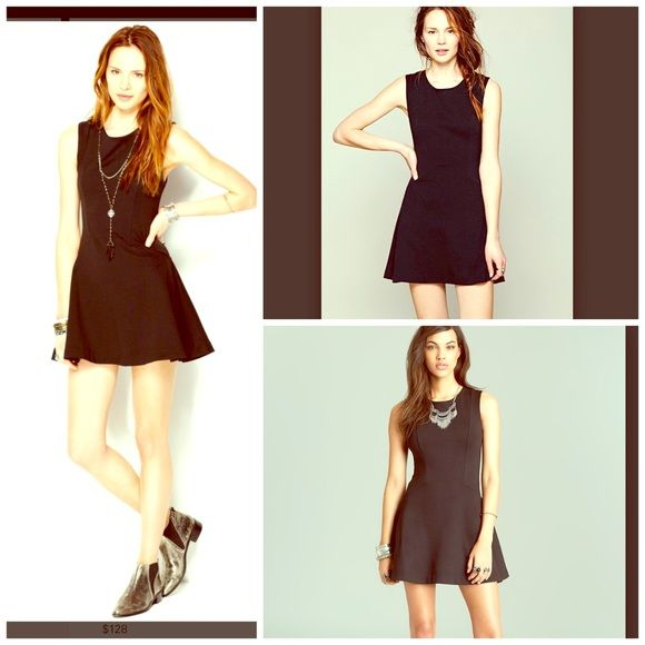 Free People NWT Little Black Dress LBD NWT! SOLD OUT EVERYWHERE! So flirty FUN! Retail $118  Free People Dresses