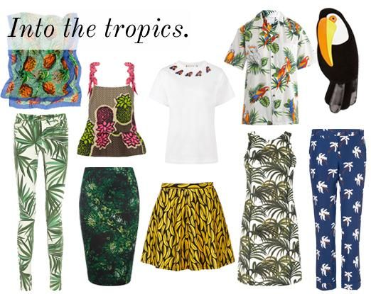 Head to Hawaii with our Club Tropicana trend edit