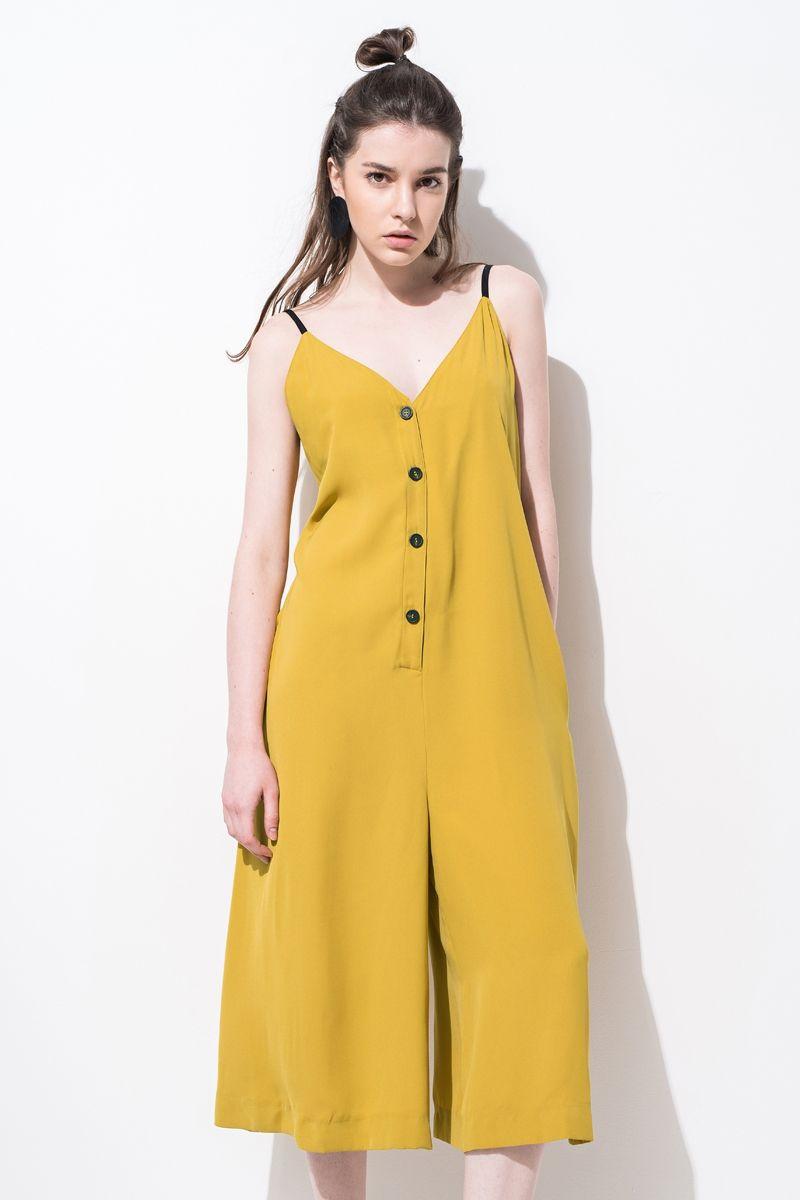 05e6461d68  p Camisole jumpsuit design. V-neck design. About me . 100% polyester  p