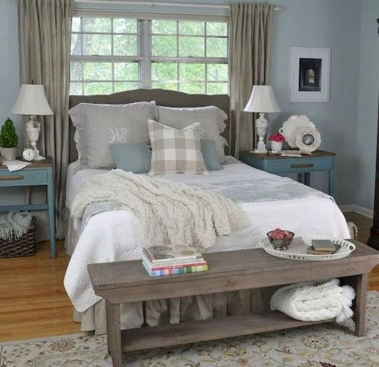 44 Extraordinary Rustic Farmhouse Master Bedroom Ideas Cozy Master Bedroom Modern Farmhouse Style Bedroom Small Master Bedroom