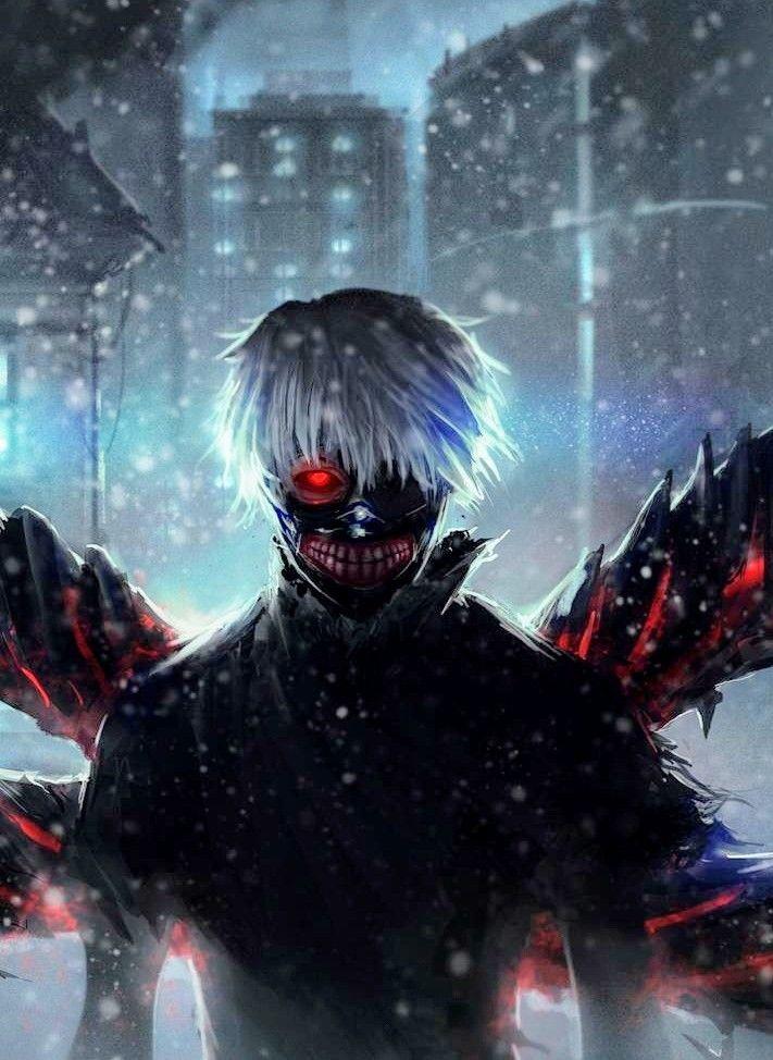 Pin oleh desrasecoria di anime Tokyo ghoul, Gambar anime