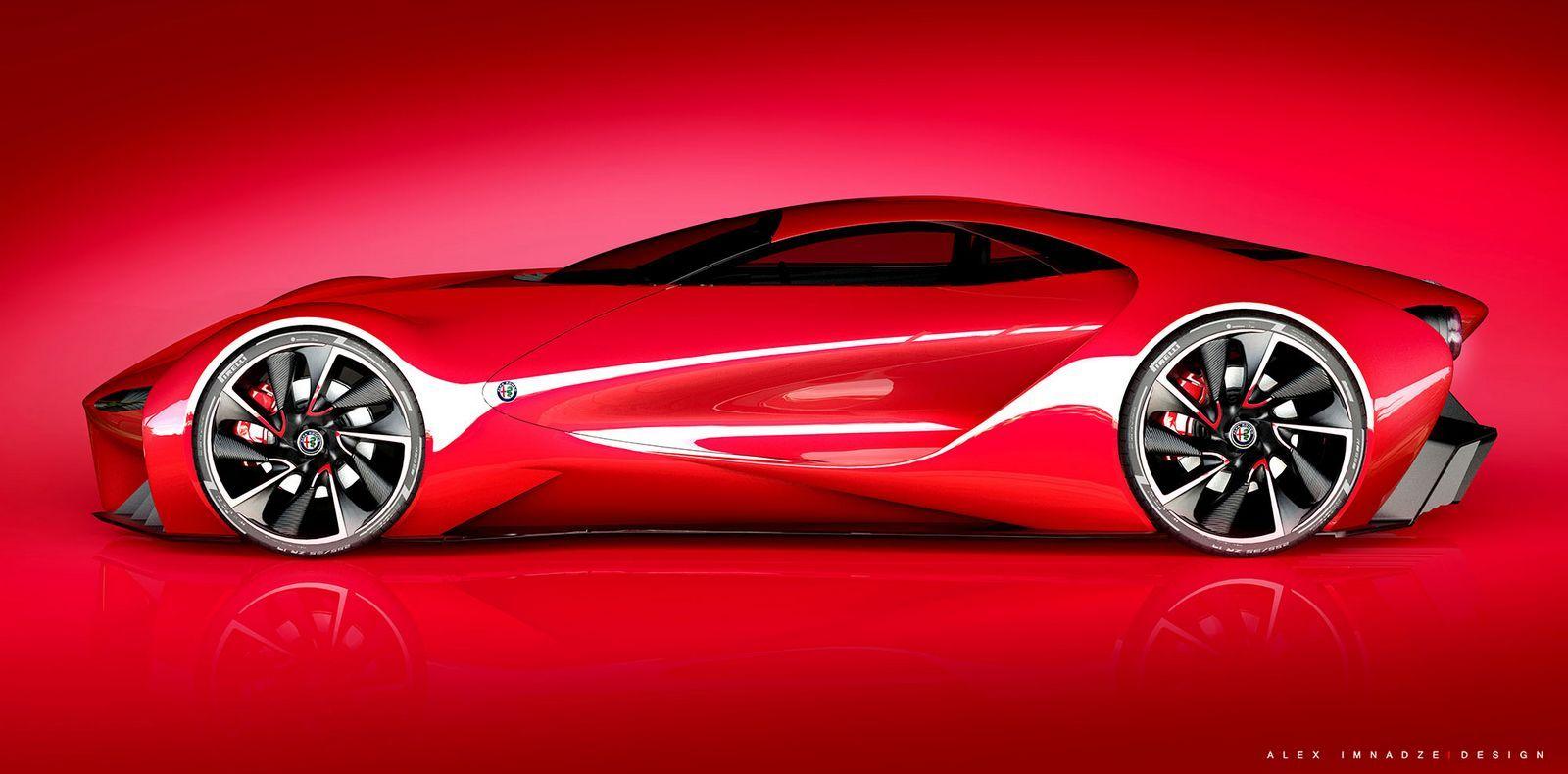 Alfa Auto Insurance >> Alfa Romeo 6c Disco Volante Design Study Is An Italian