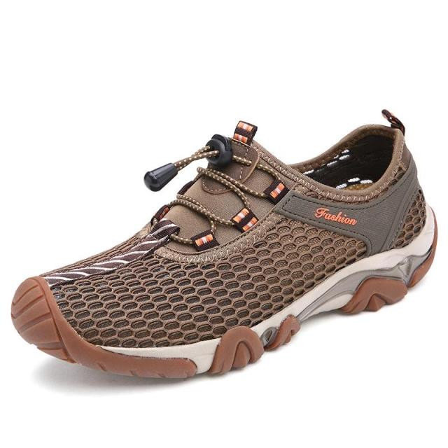 Men Lycra Mesh Breathable Outdoor Shock Absorption Hiking Shoes is  fashionable and cheap, buy best sneakers for plantar fasciitis for  family-NewChic Mobile.
