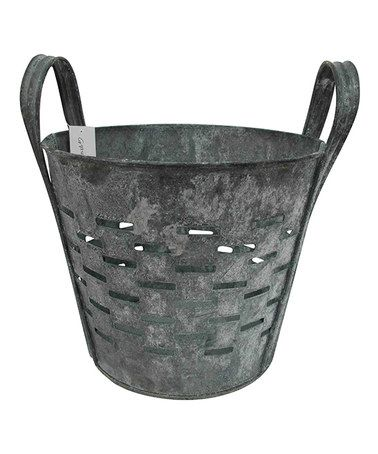 Another great find on #zulily! Galvanized Grater Container #zulilyfinds