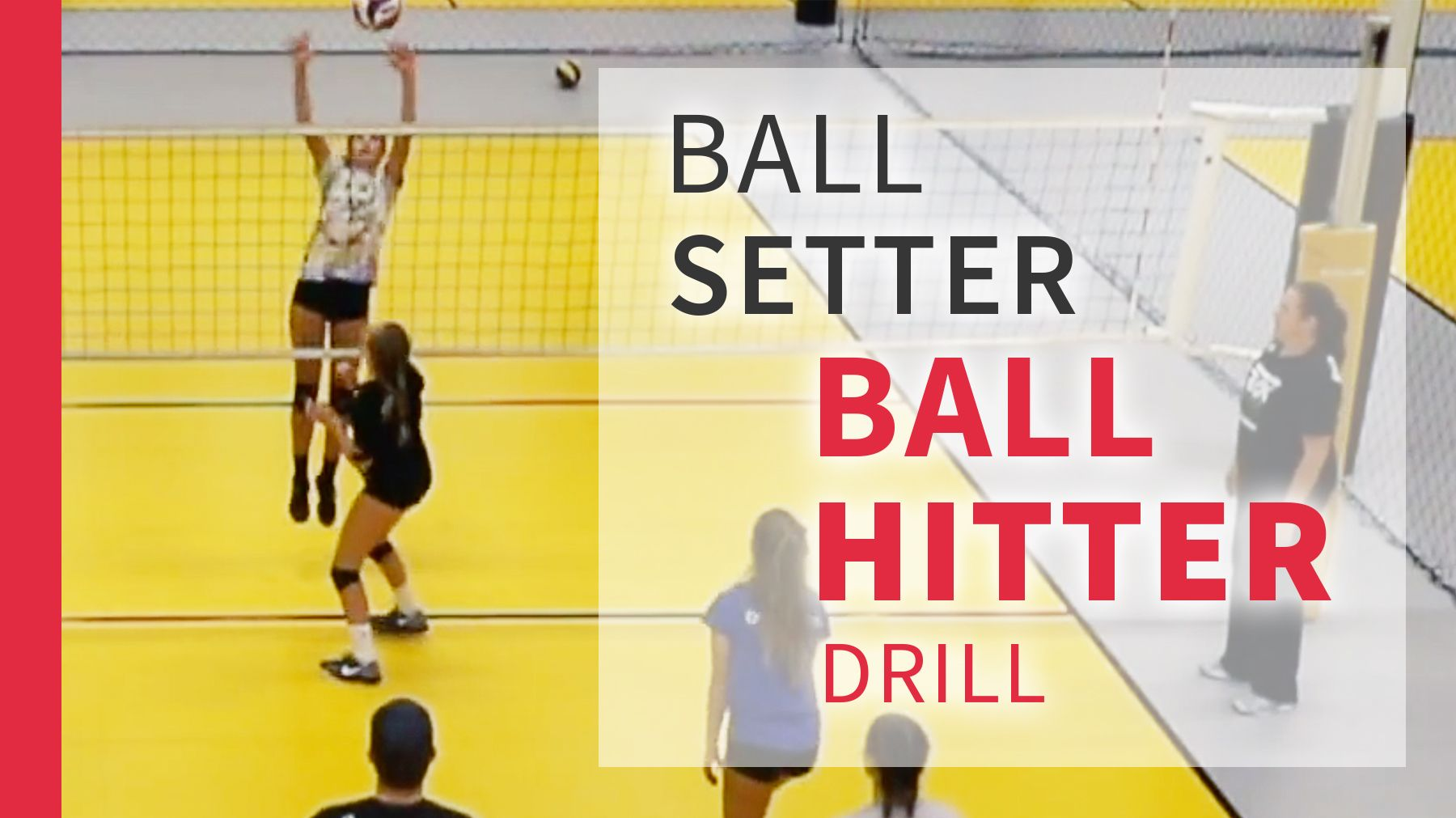 Ball Setter Ball Hitter Drill With Cary Wallin Drills Coaching Volleyball Volleyball Drills Volleyball Setter