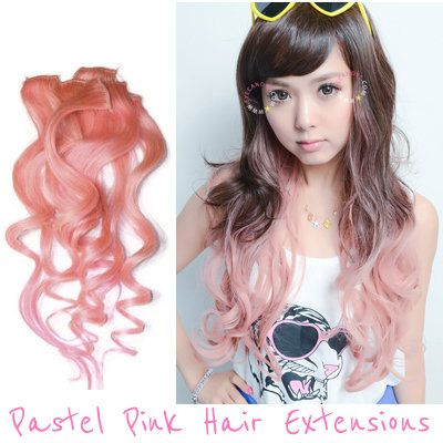 Pastel pink hair extensions wigs japanese korean celebrity style pastel pink hair extensions wigs japanese korean celebrity style pmusecretfo Gallery