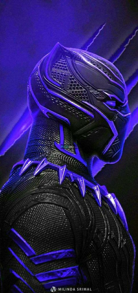 Black Panther Wallpaper 4k Iphone 3d Wallpapers Black Panther Marvel Black Panther Hd Wallpaper Black Panther Art