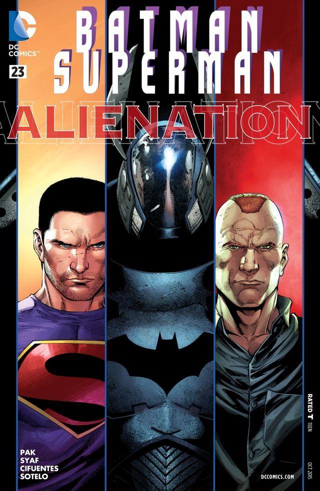 #Batman/Superman (2013) #23 #DC #Batman #Superman (Cover Artist: Vicente Cifuentes, Ulises Arreola Palomera & Ardian Syaf) Release Date: 8/12/2015