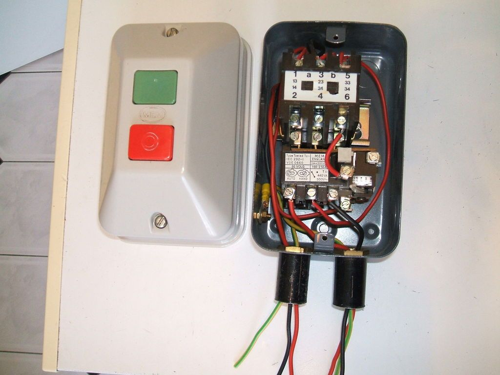 45+ Auto switch motor starter connection ideas