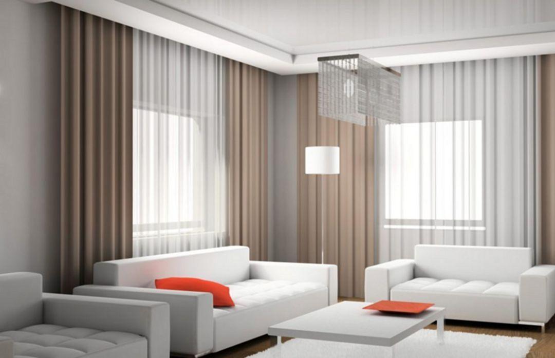Luxury Modern Living Room Curtains Design Decoor Curtains