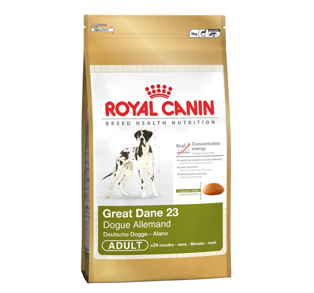 Royal Canin Great Dane Adult 3 Kg Con Imagenes Gran Danes