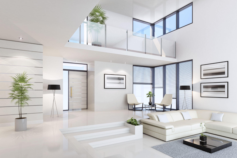 93 White Terrazzo Interior