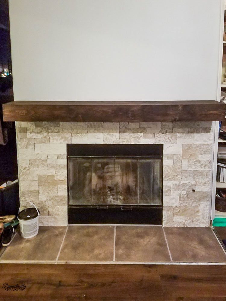 Build your own rustic fireplace mantel rustic fireplace
