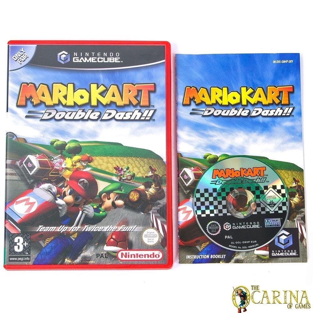 Mario Kart Double Dash Nintendo Gamecube Game Case Uk