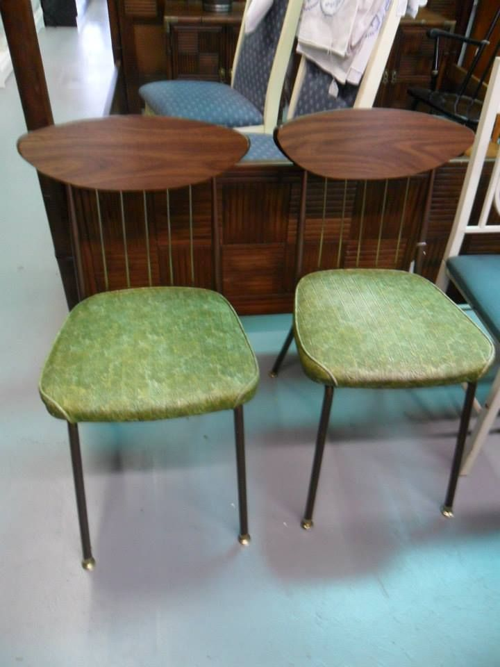 Set of Vintage Chairs at Curiosity Shop, Irving www.curiosityshoptx.com
