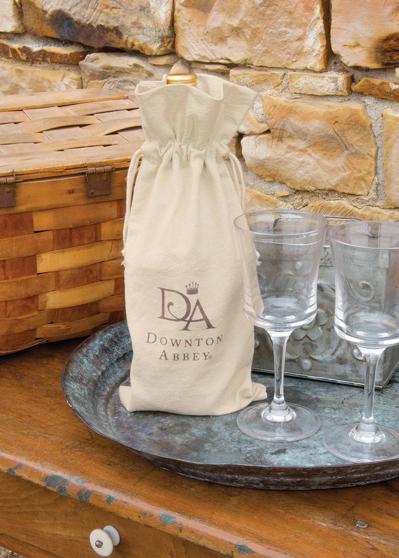 Fun wine bag for the #DowntonAbbey lover!