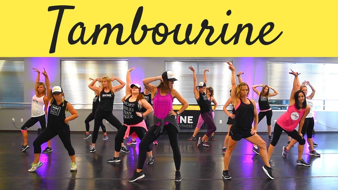 Tambourine By Eve Shine Dance Fitness Dance Workout Zumba Workout Zumba Videos