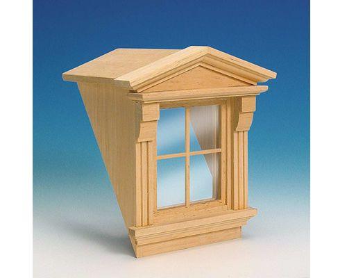 50370 Dormer and Victorian window 屋根窓とビクトリアの窓  « 西洋アンティークドールハウス1/12専門店 西洋ドールハウス作りならお任せ下さい | ミニチュアクラブ