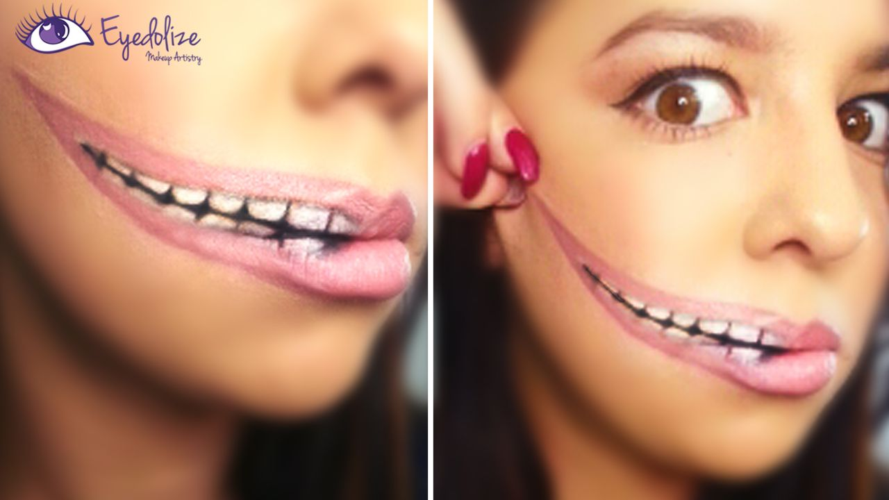 Stretched lips halloween makeup creation by eyedolizemakeup stretched lips halloween makeup creation by eyedolizemakeup tutorial on youtube baditri Choice Image