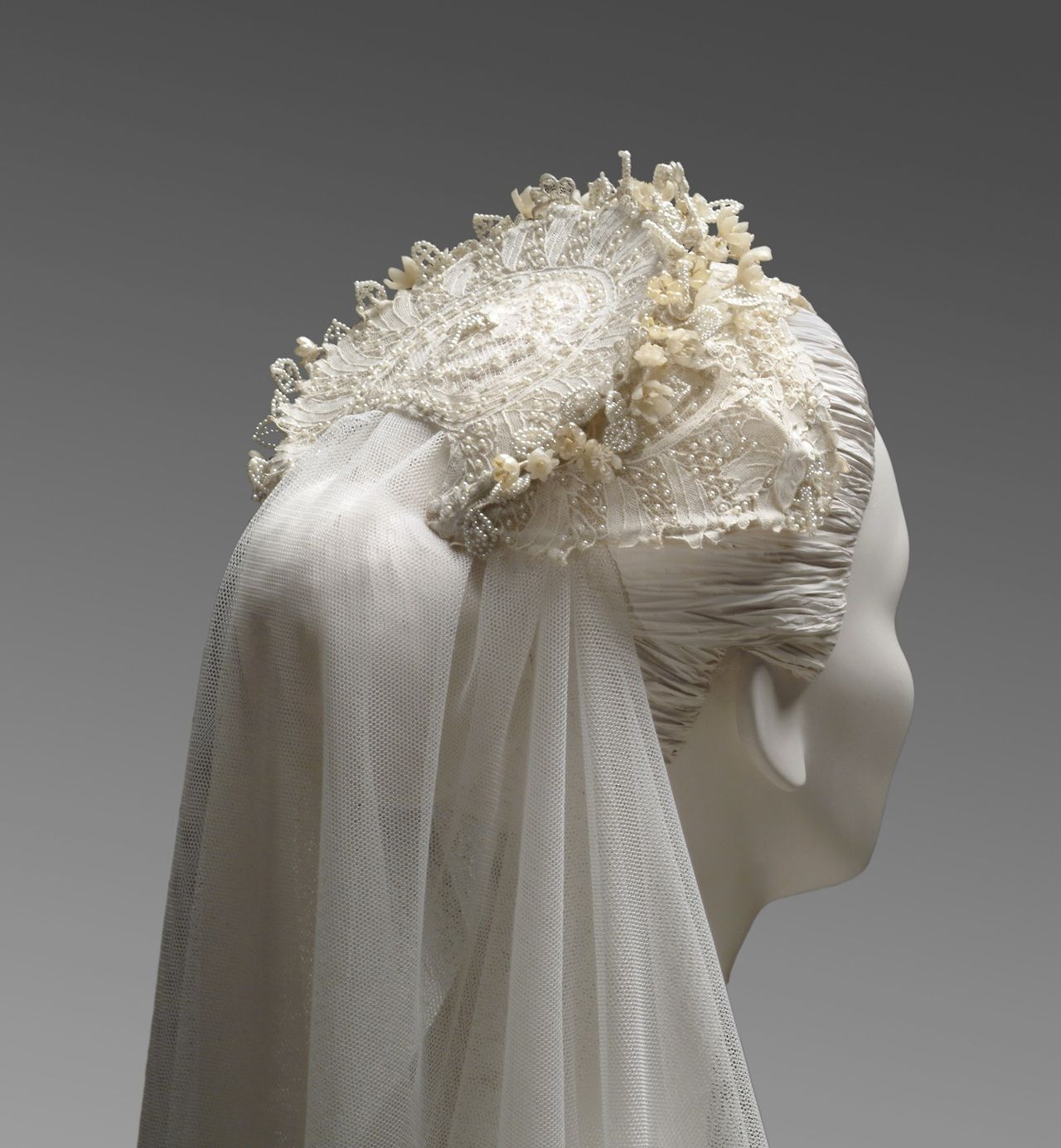 Vintage Wedding Dresses Philadelphia: Grace Kelly's Wedding Headpiece, 1956, Designed By Helen