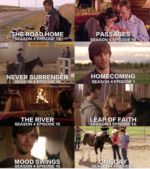 Heartlandians Heartland tv, Heartland season 4
