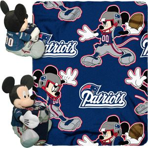 classic fit 9a561 a2df1 Mickey Mouse Patriots Blanket | Football ❤ | Nfl new york ...