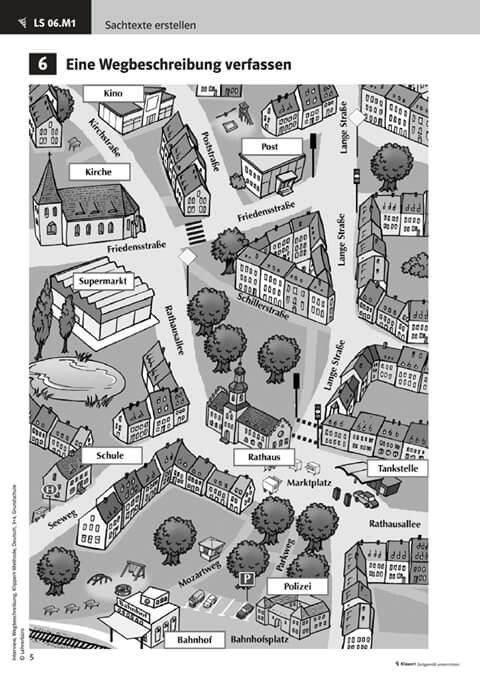 Stadtplan | Deutschunterricht | Pinterest | German, Deutsch and Language