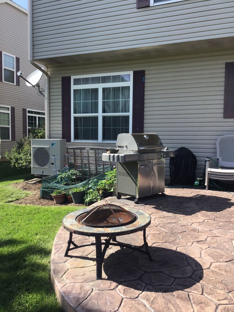 Enjoy your patio without the loud interruption of your air
