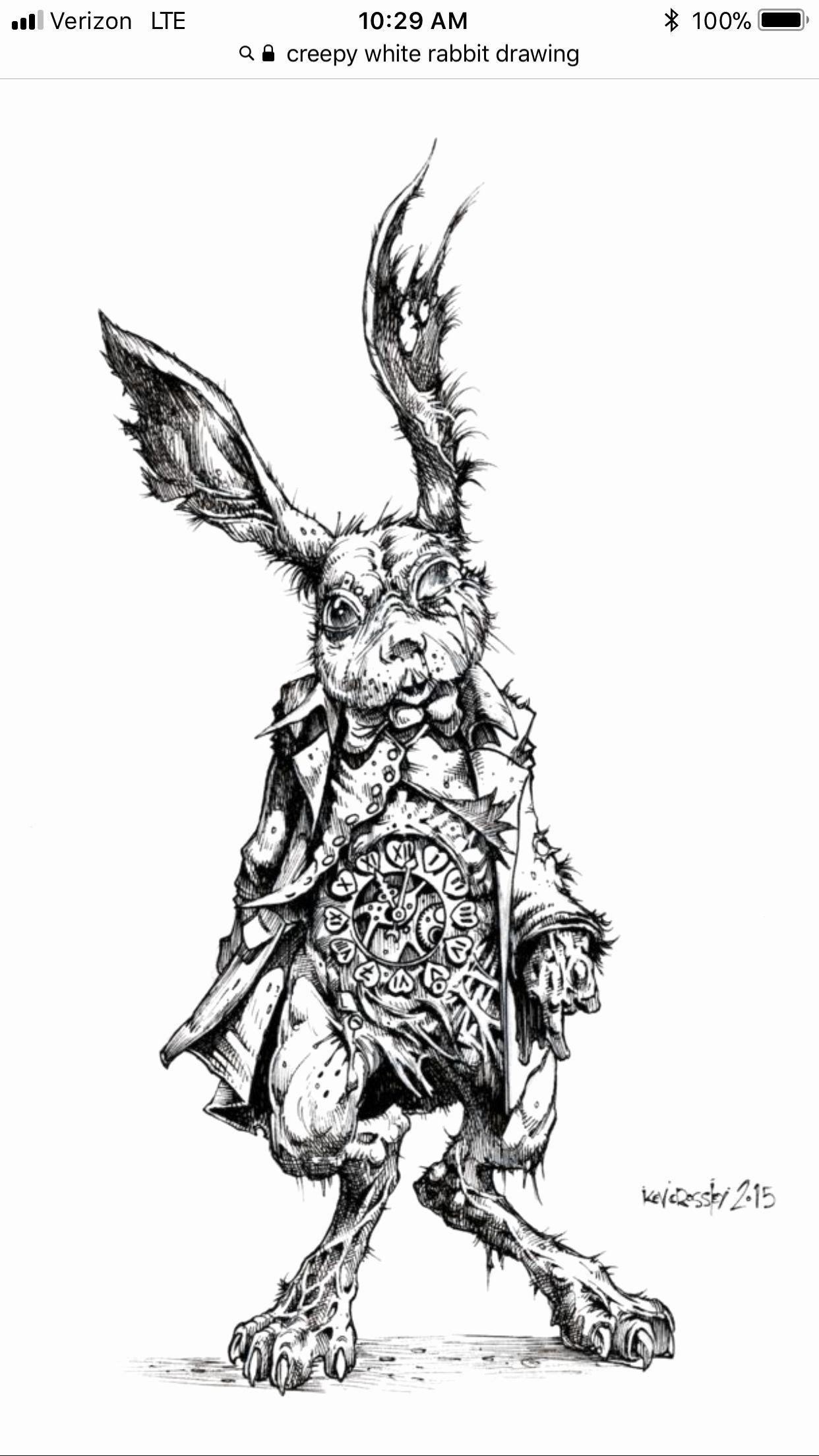 Alices alptraum im wunderland malbuch elegante pin von