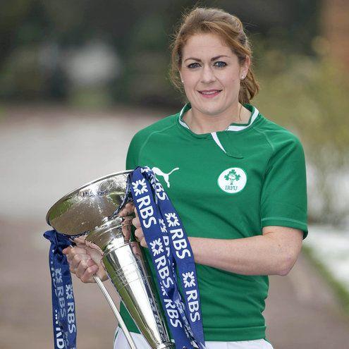 Fiona Coghlan Ireland Captain