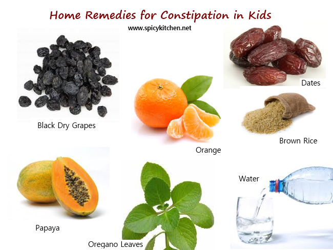 Home Remedies For Constipation In Kids Home Remedies Home