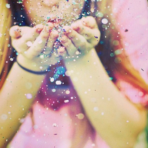 Blowing glitter... | Into Thin Air | Pinterest | Blowing ...