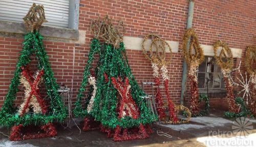 vintage small town christmas decorations i am betting these were from tucker georgia since the article mentions a small town in georgia and they