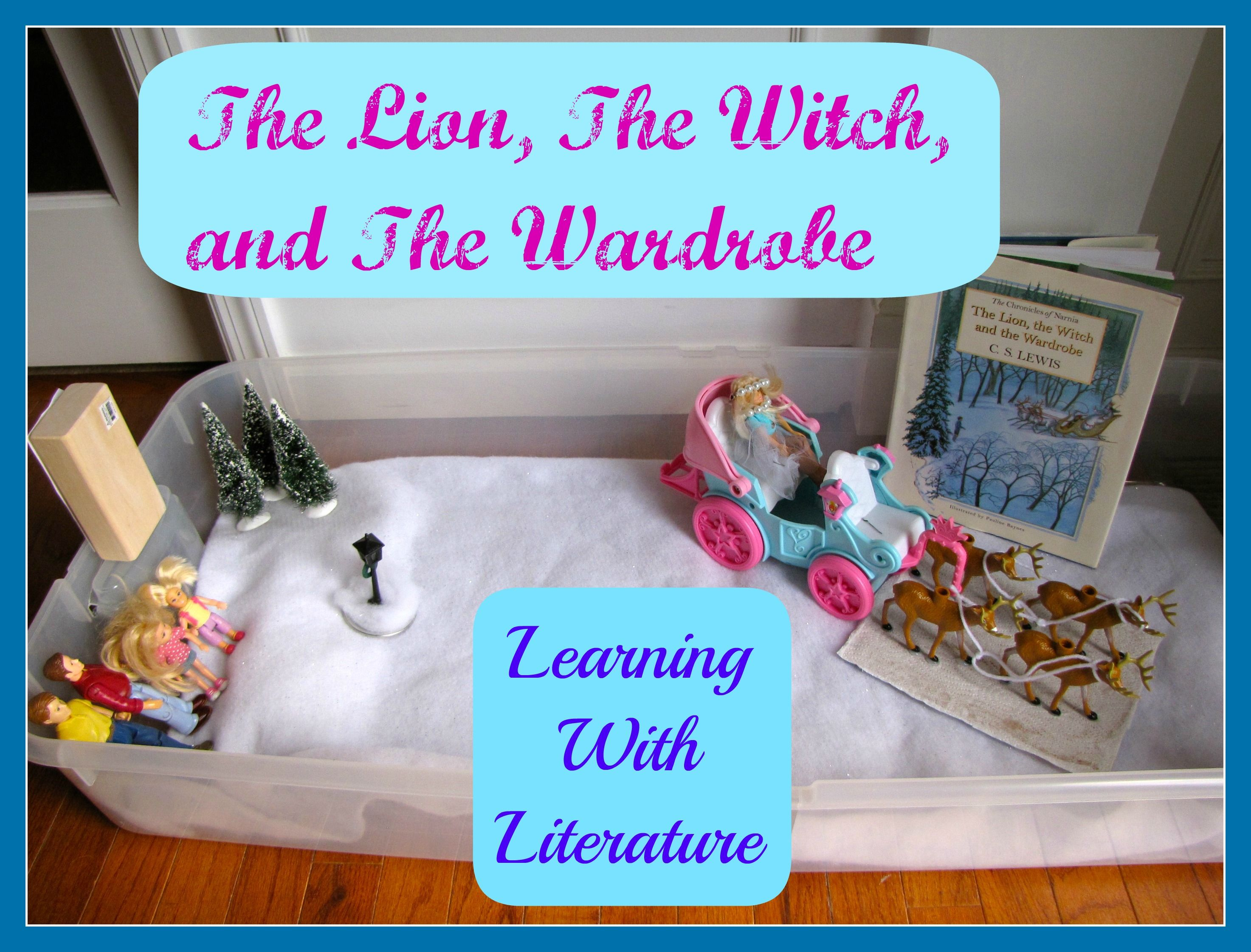 Learning With The Lion The Witch And The Wardrobe Kids Projects