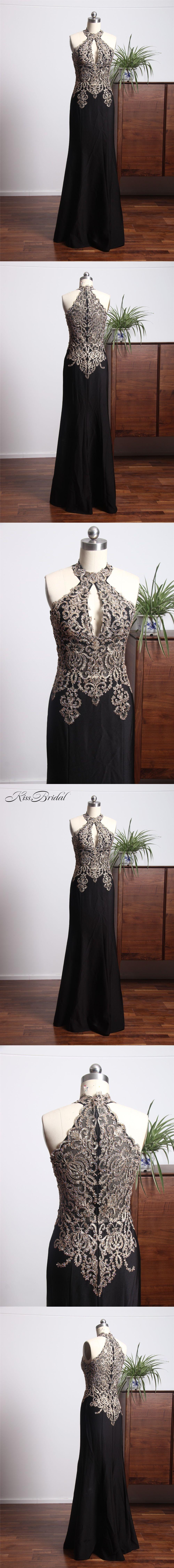 New design long prom dresses high neck off the shoulder floor