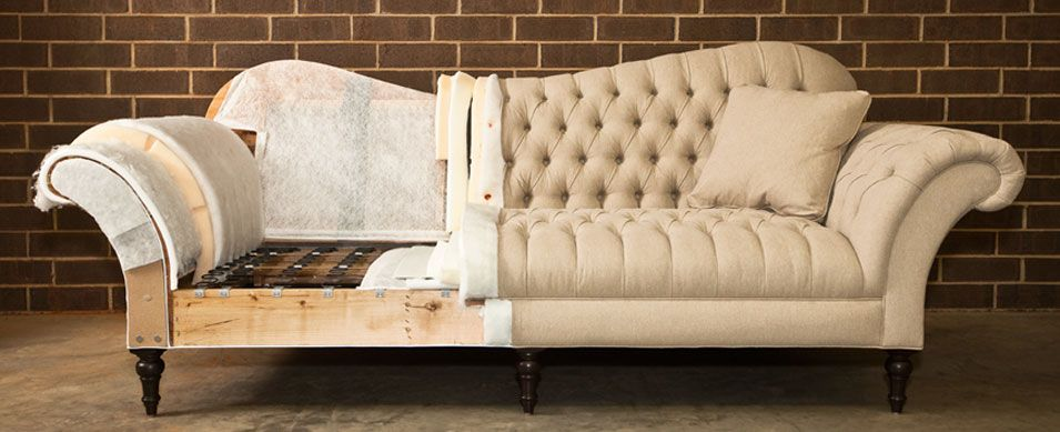 Common Upholstery Methods Sofa Frame