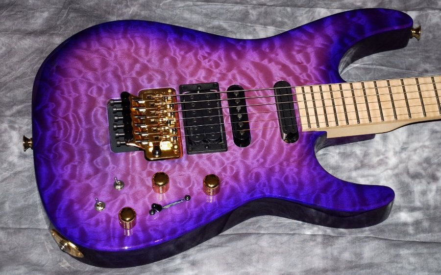 2009 Jackson Pc1 Phil Collen Purple Daze Unplayed | Dream ...